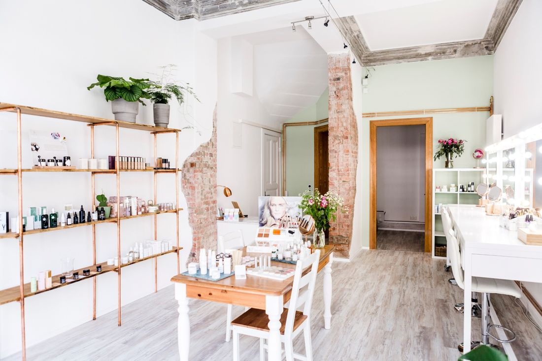 Lisa Scharffs Organic Beauty Studio in Hamburg